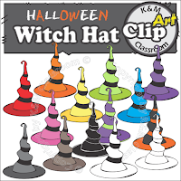https://www.teacherspayteachers.com/Product/Halloween-Witch-Hat-Clip-Art-2793237