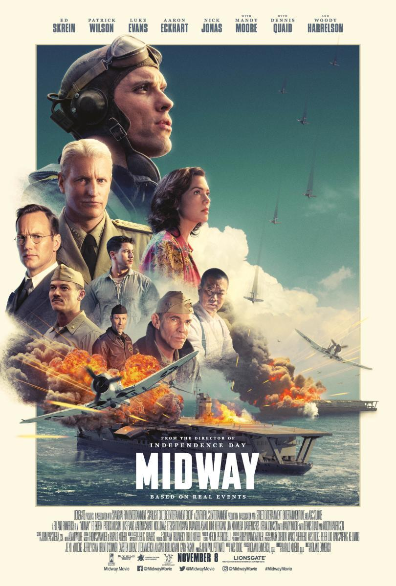 Download Midway (2019) Full Movie in Hindi Dual Audio BluRay 720p [1GB]