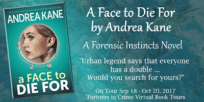 Bea's Book Nook, Review, A Face to Die For, Andrea Kane, Giveaway