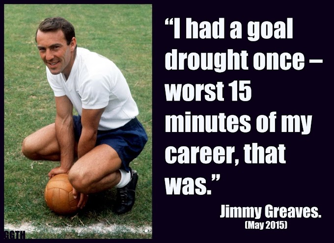 RIP Jimmy Greaves