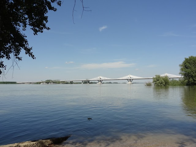 Bridge Vidin - Calafat - the longest on Danube river