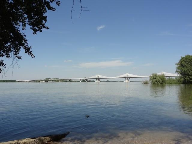 Bridge Vidin - Calafat - the longest on Danube river