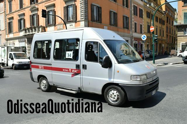 Atac: indetta la procedura negoziata per l'acquisto di 2 minibus per la linea 34