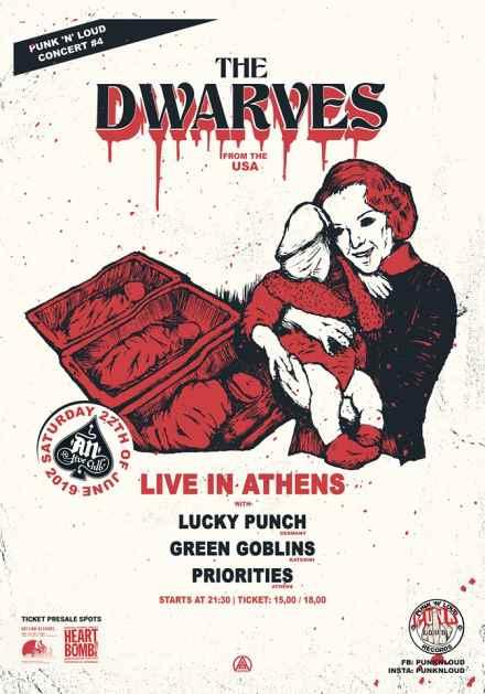 DWARVES: Σάββατο 22 Ιουνίου @ An Club