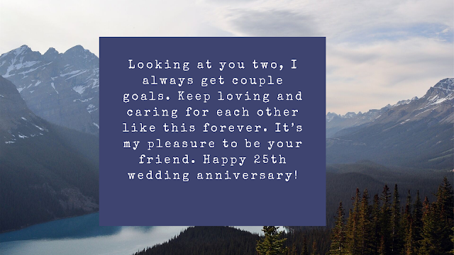 25th wedding anniversary wishes images