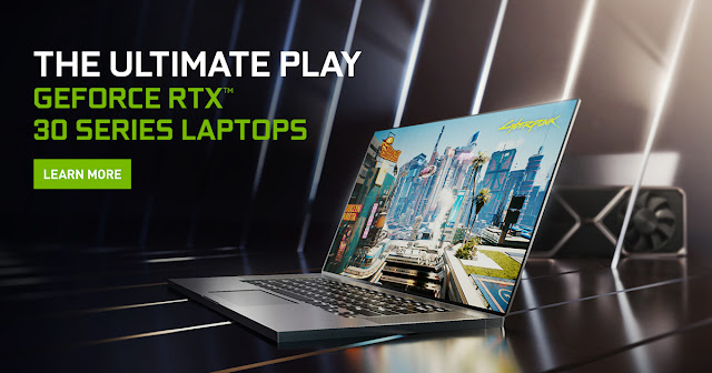 Nvidia GeForce RTX 30 Series Gaming Laptops, with RTX 3060 an much more Annoucned by Nvidia | TechNeg