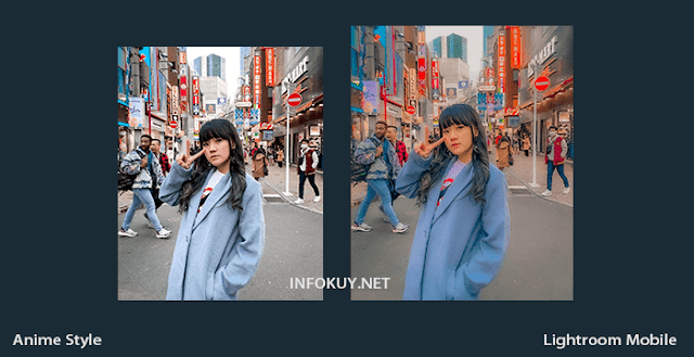 Tutorial Lightroom Anime Style