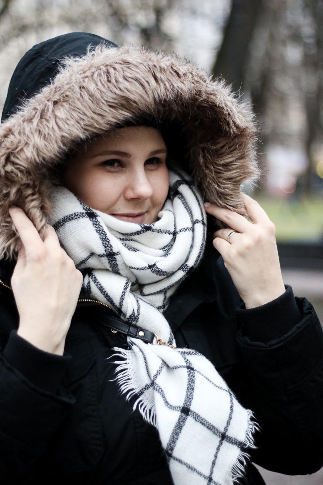plussize, tyyli, muoti, talvi pukeutuminen, talvitakki, parkatakki,