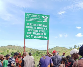Papua Nugini Limpahkan 19 Hektar Tanah untuk West Papua
