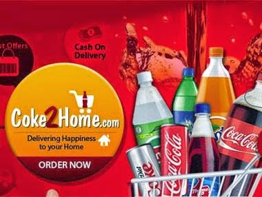 Coke to Home: Upto 10% + Flat 10% Extra Discount on Coca Cola | Thumsup | Fanta | Limca | Sprite | Maza & more (For Bangalore, Chennai , Hyderabad & Ahmedabad Customers)