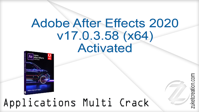 Adobe After Effects 2020 v17.0.3.58 (x64) Activated