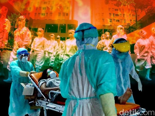 Puluhan Nakes Surabaya Terpapar COVID-19, Bagaimana Psikologisnya?