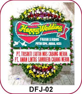 Bunga Papan Pernikahan Birawa Assembly Hall
