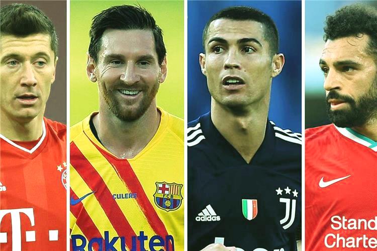 تعرف علي ترتيب أفضل 10 لاعبين في العالم لعام 2020 صلاح يتفوق علي مبابي