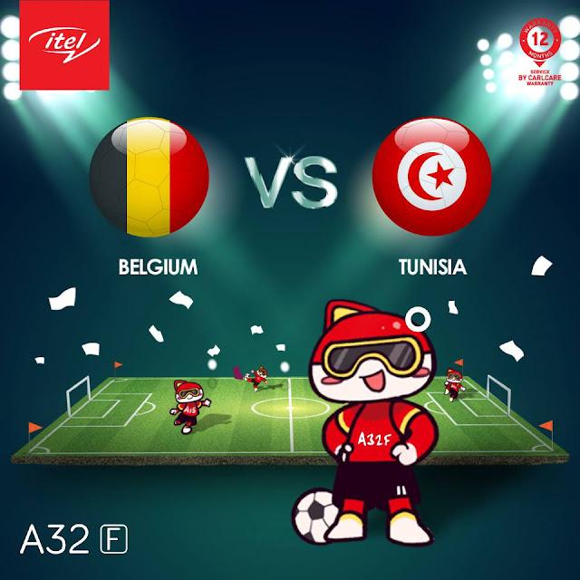 BELGIUM VS TUNISIA LIVE STREAM WORLD CUP 23 JUNE 2018