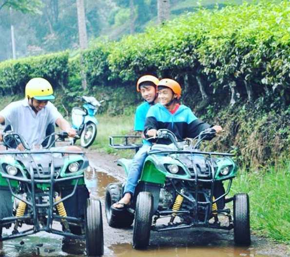 Bermain ATV Tea Tour Walini Ciwidey Bandung