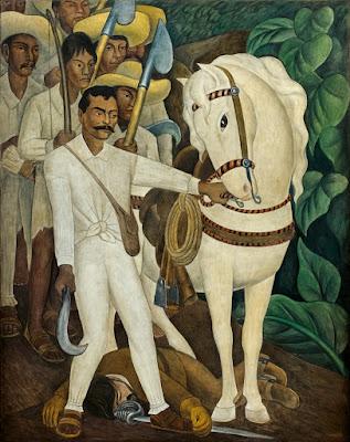 Diego Rivera - Agrarian leader Zapata,1931