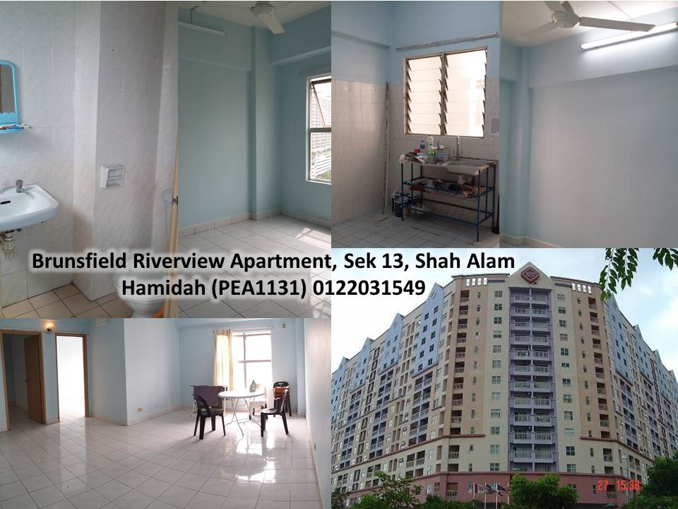 Property Type Service Apartment Location Brunsfield Riverview Yen 13 Shah Alam Size 750sf No Of Rooms Bath 2 1