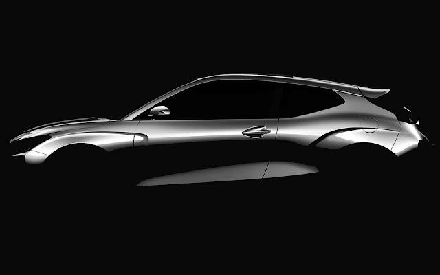 Novo Hyundai Veloster 2019 será apresentado no Salão de Detroit