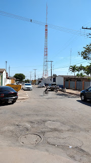 Torre e estúdios da Serra dos Cristais FM