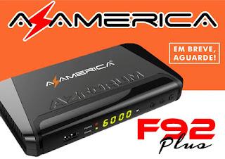 Atualização Azamerica F92 Plus V1.08