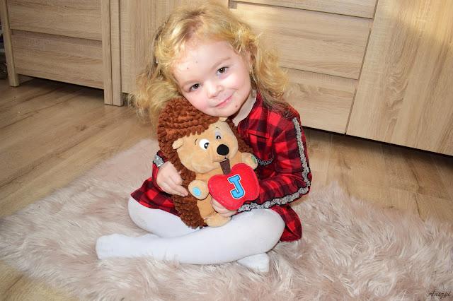 Jeżyk Julek pomocnik w nauce zdrowego trybu życia dla dzieci