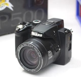 Jual Nikon Coolpix P500 Bekas Kamera Prosumer