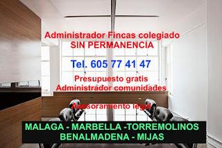 Administradores de fincas en malaga tel 605 77 41 47 for Administrador de fincas marbella