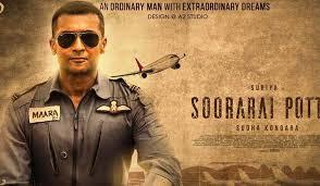 Soorarai Pottru has been shortlisted for screening at the International Film Festival.