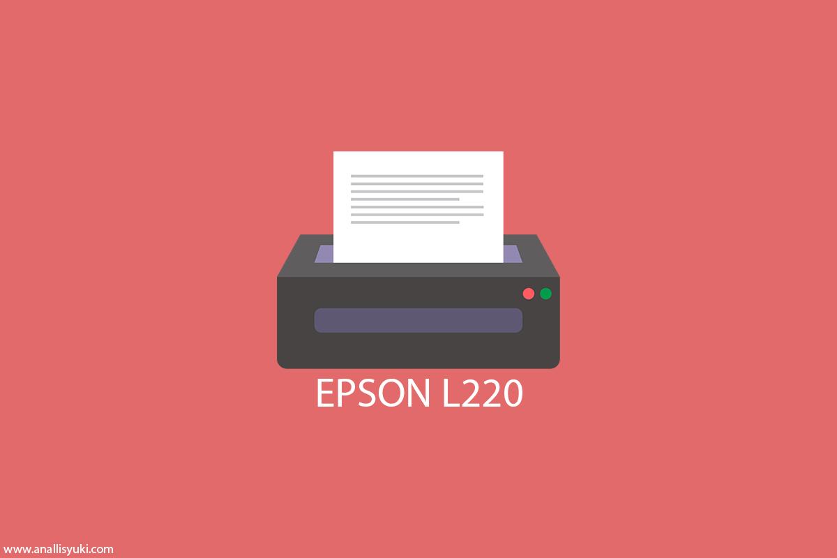 Cara Install Driver Printer Epson L220