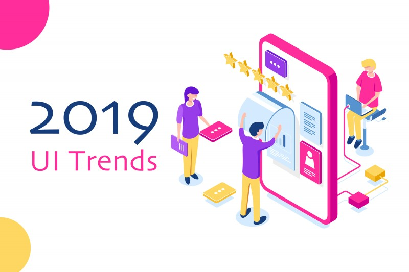 Renowned Web And Mobile App Development Company Usa Latest Mobile App Ui Design Trends 2019 Acquaint Softtech