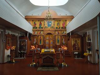 Мелітополь. Монастир Сави Освяченого. Храм ікони Божої Матері «Призри на смирення»