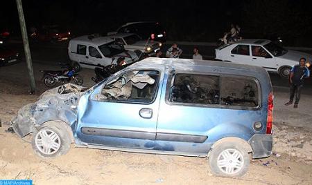 قتيلان و301 جريحا حصيلة حوادث السير بالمناطق الحضرية خلال الأسبوع الماضي