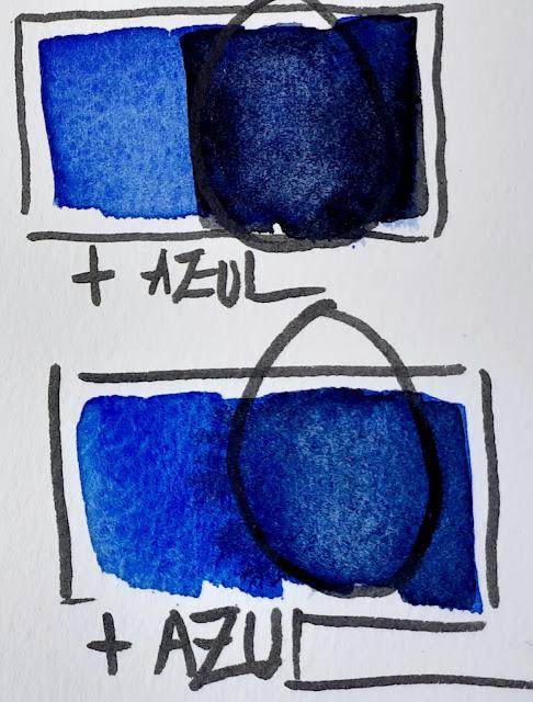 """<alt=""""Como oscurecer azules""""/>"""