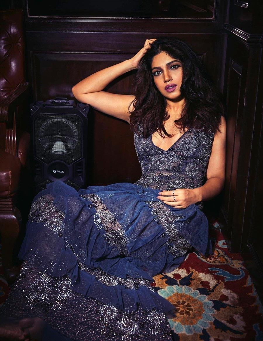 Glamorous Indian Model Bhumi Pednekar For FHM India 2019
