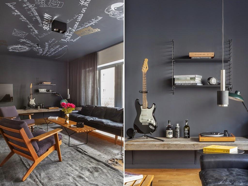 Atmosfere maschili coffee break the italian way of design for Appartamento design industriale