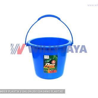 ULTRA - EMBER PLASTIK 3 GALON 250 (GAGANG PLASTIK)