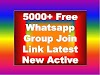 Free Whatsapp Group Join Link 2021 | 5000+ Indian Girls New Groups Full Update
