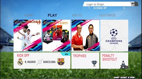 FIFA14 MOD FIFA 21 Myanmar Android Offline