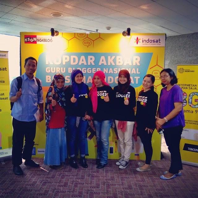 Kopdar Akbar Guru Blogger Nasional Bersama Indosat