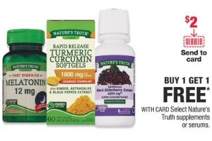 FREE Nature's Truth CVS Deal 3-1-3-7