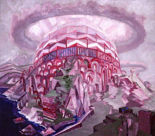 Wenzel Hablik – Expressionistische Utopien. Malerei, Zeichnung, Architektur