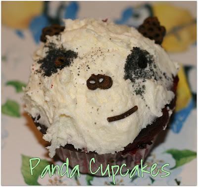 Cake: Panda Cupcakes 1