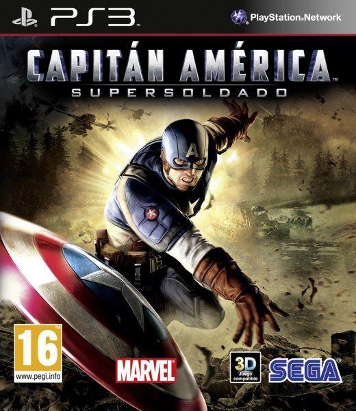 Captain America Super Soldier PS3 ISO