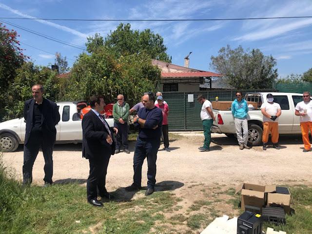 Με την χρήση drones η κουνουποκτονία στην Αργολίδα από την Περιφέρεια Πελοποννήσου