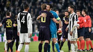 Juventus 2-2 Tottenham di Leg Pertama Babak 16 Besar Liga Champions