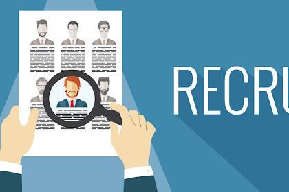 Lowongan CV. Buana Perkasa Pekanbaru Agustus 2019
