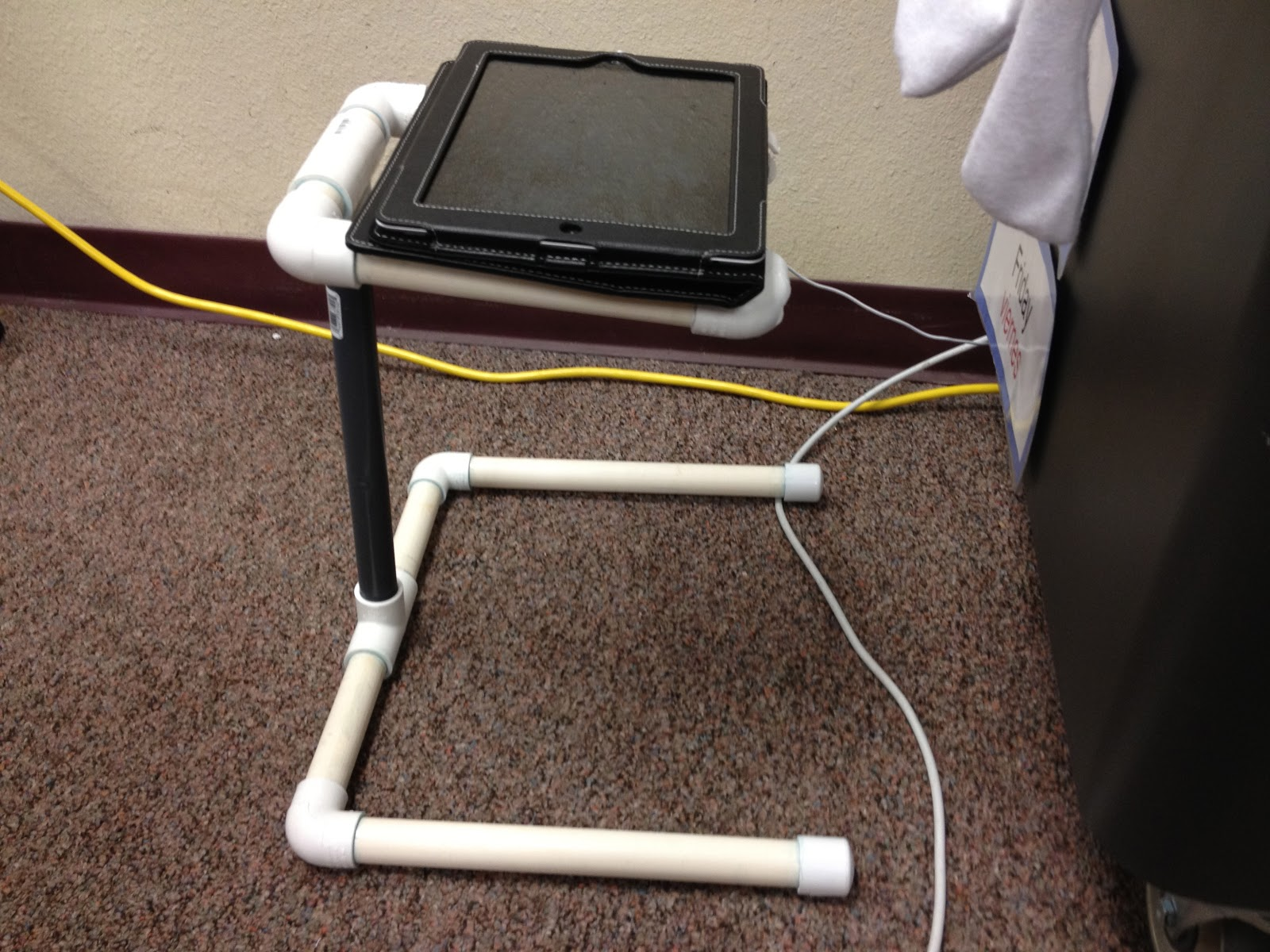 Our Flipped Classroom Adventures: iPad Video Stand