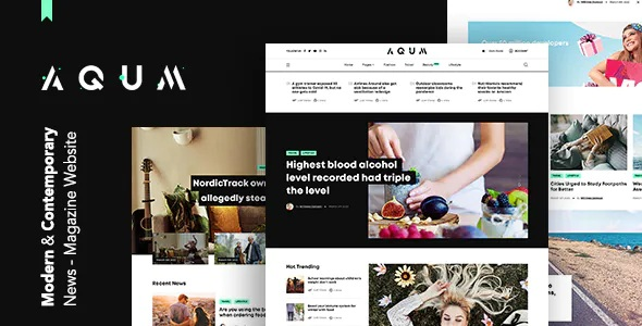 Best Contemporary News and Magazine HTML Template