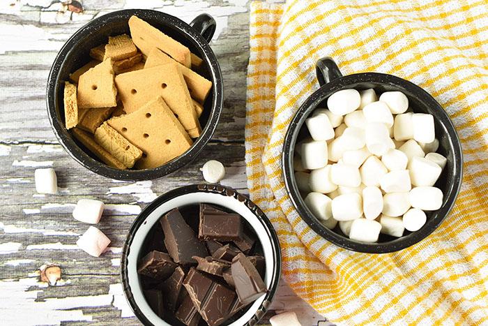 Vegan S'mores Cookies Ingredients